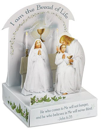 I am the Bread of Life First Communion Decoration, 4 Inch