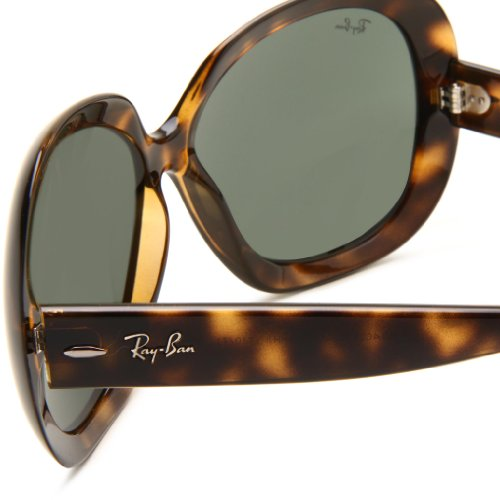 ray ban sunglasses polarized sale  Amazon.com: Ray-Ban JACKIE OHH II - LIGHT HAVANA Frame GREEN ...