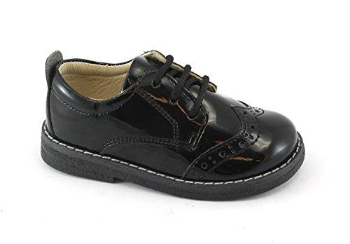 Chaussures Inglesina En Lacets Bébé Primigi Noir Verni Cuir Nero 85253 CwH8SqSx5