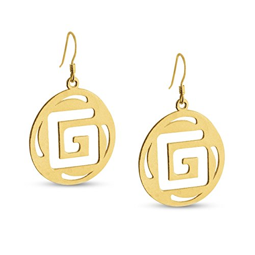 azaggi-gold-plated-sterling-silver-handcrafted-g-shaped-labyrith-round-shaped-hook-earrings