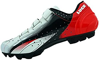 LUCK Zapatillas de Ciclismo Extreme 3.0 MTB,con Suela de Carbono y ...