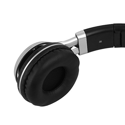 YHhao Over-Ear Headphones, On-Ear Headsets Noise Cancelling Foldable Headphones with Mic and 3.5mm Detachable Cord for iPhone, iPad, Android Smartphones, PC, Computer, Laptop, Mac, Tablet, Black by YHhao (Image #6)