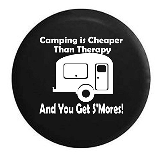 Smores Spare Tire Cover made our list of cool gadgets for our 10 Campfire Smores Recipes Smore Variations That Will Make Your Mouth Water