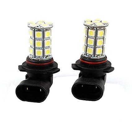 Autos 9006 HB4 5050 SMD 27 LED Blanco luz de la cabeza Durante el día de