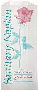 Brown Paper Goods 8B02 Sanitary Napkin Disposal Bag (Case of 1000)