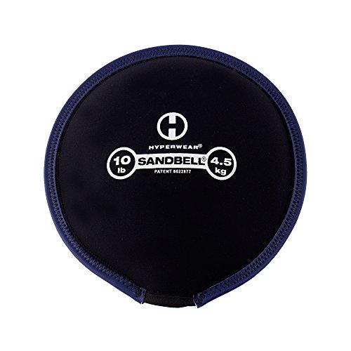 Hyperwear SandBell Sandbag Training Free Weight (Pre filled) (10)
