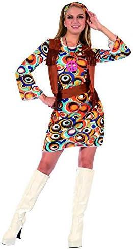 Vegaoo - Disfraz Hippie Mujer marrón - M: Amazon.es: Juguetes y juegos