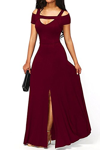 formal cut out maxi dress - 2