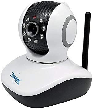 Zodiac Smart Eye 1.0 Cámara IP Indoor con Ranura SD, 720p, Blanco: Amazon.es: Bricolaje y herramientas