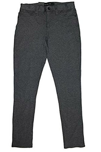 Calvin Klein Jeans Women's 5 Pocket Ponte Legging (4, (Calvin Klein 5 Pocket Jeans)