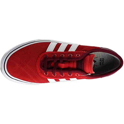 Adidas Originals Mens Adi-ease Premiere Fashion Sneaker Scarlatto / Calzature Bianco / Bordeaux Borgogna
