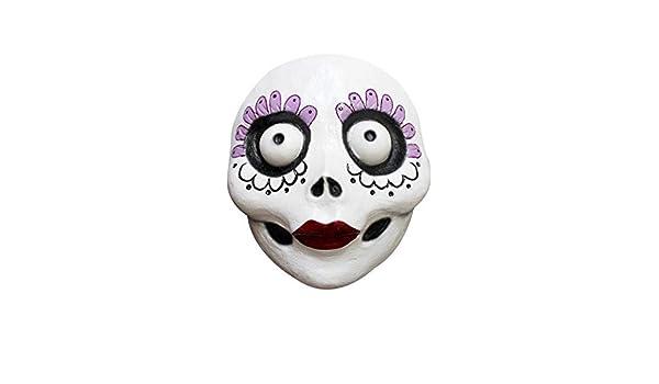 GHOULISH Máscara Catrina del Día de los Muertos Divertida: Amazon.es: Juguetes y juegos
