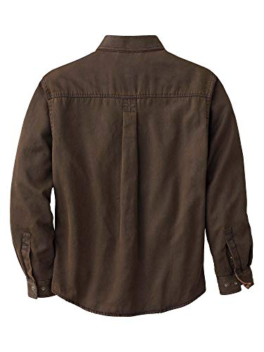 Legendary Whitetails Men's Journeyman Rugged Shirt Jacket Tobacco Medium
