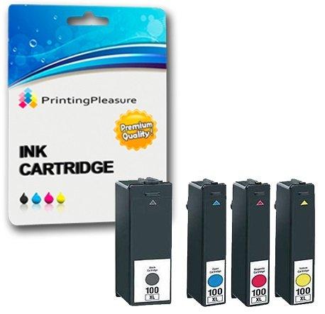 38 opinioni per Printing Pleasure 4x Lexmark 100XL Cartucce d'inchiostro compatibili per Lexmark