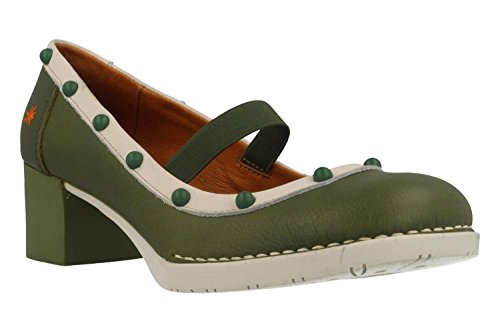 Chaussures Memphis Kaki de Vert Bristol ART awq40a