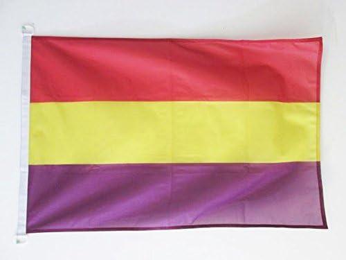 AZ FLAG Bandera Nautica ESPAÑA Republicana SIN Escudo 45x30cm ...