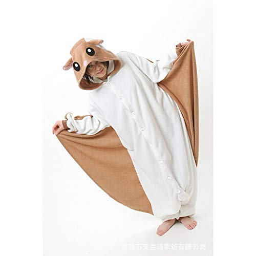 Adult Onesie Women/Men Animal Pajamas Cosplay Costume Cartoon Sleepwear forTeens ()
