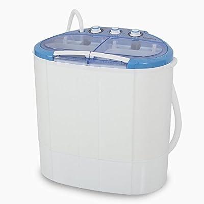 ARKSEN Portable Mini Washing Machine Compact Laundry, 110V, 7.9LBS (3.6KG), (White)