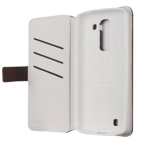 Cruzerlite Bugdroid - Funda  para el LG G Pro 2 - Negro / Nieve (empaquetado al por menor) Smoke/White