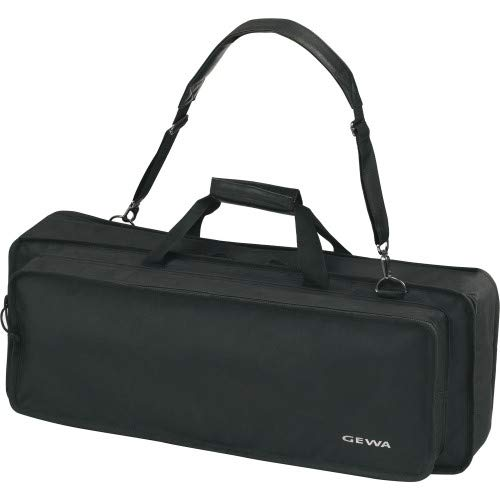 Keyboard Gig Bag Basic, 85x32x10 cm, music sheet pocket on the lid, black, tear- and waterproof