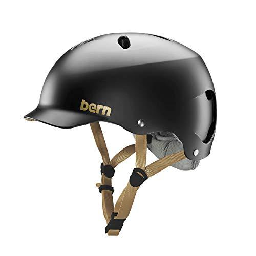 BERN - Summer Lenox EPS. Helmet, Satin Black, Medium (Bern Bike Helmets)