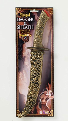 Forum Novelties Medieval Dagger with Sheath