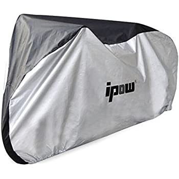 Ipow 210D Thicken Oxford Fabric Waterproof Snowproof UV Protective Cycle Bike  Bicycle Cover with Bag Best