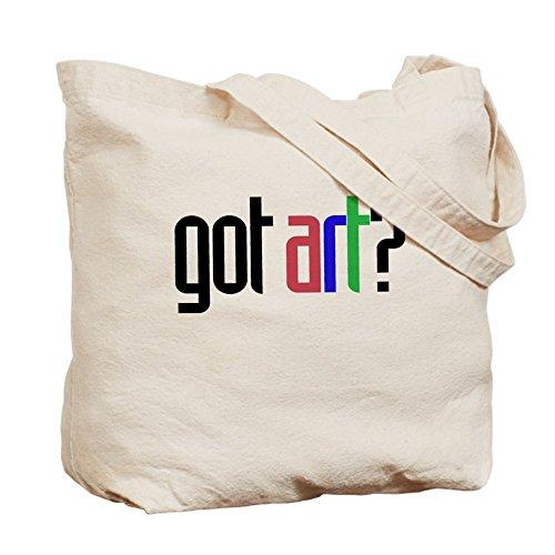CafePress–Got Kunst? Künstler–Leinwand Natur Tasche, Reinigungstuch Einkaufstasche S khaki