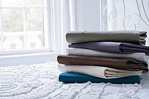Magnolia Organics Dream Collection Sheet Set - Twin, Elderberry Grey