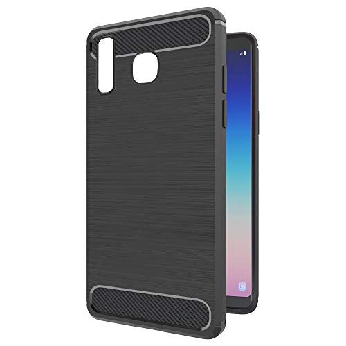 Amazon Brand – Solimo Protective Mobile Cover (Soft & Flexible Back Case) for Samsung Galaxy A8 Star (Black)