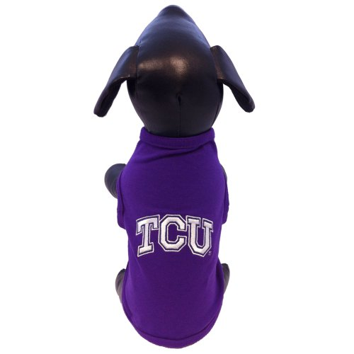 NCAA TCU Horned Frogs Cotton Lycra Dog Tank Top, X-Large