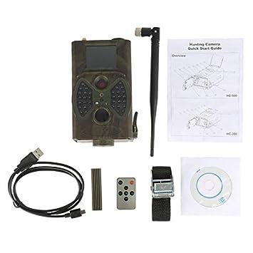 Silverkial Cámara HC-300M con cámara de Trail de Caza Visión Nocturna de GPRS para