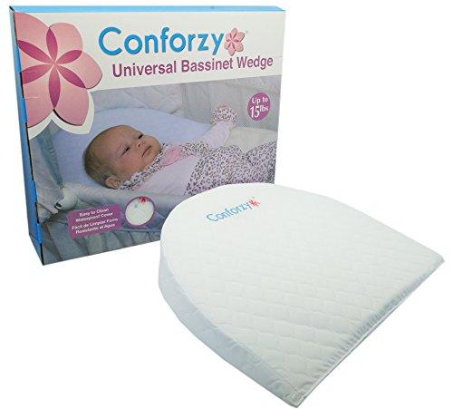 Conforzy Universal Bassinet Wedge Newborn Baby Reflux