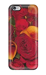 TYH - Best Awesome Defender Tpu Hard Case Cover For Iphone 6 4.7- Fall Flowers 4569349K32091675 phone case