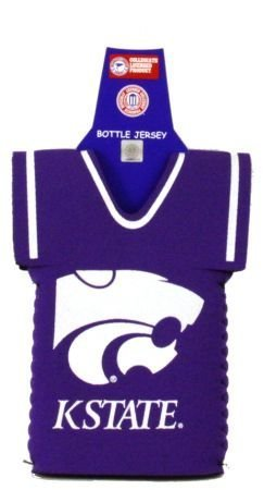 KANSAS STATE WILDCATS BOTTLE JERSEY KOOZIE COOLER