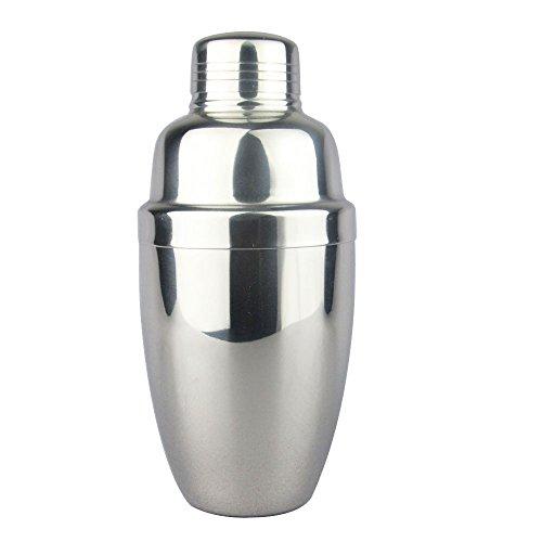 Lautechco Stainless Steel Martini Cocktail Shaker Bar Tools Wine Shakers (18 Oz/550ml) by Lautechco® (Image #3)'