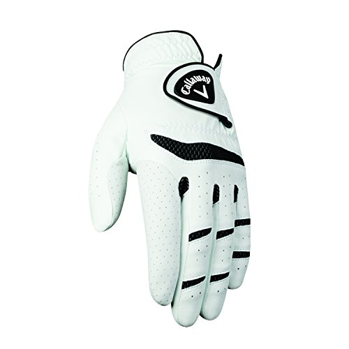 (Callaway Men's Fusion Pro Golf Glove, Medium/Large, Left Hand)