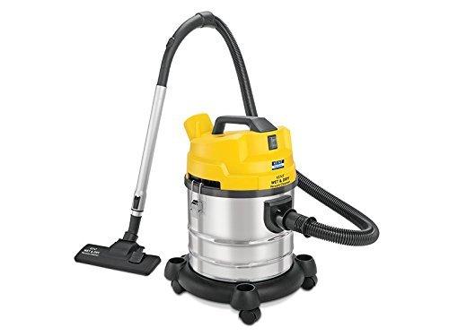 Renewed  KENT Wet and Dry Vacuum Cleaner 1200 Watt  Yellow  amp; Silver