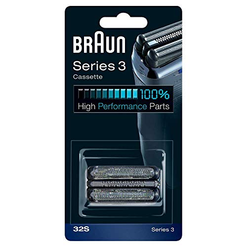 - Braun Replacement Foil & Cutter Cassette - 32S, Series 3 - Silver