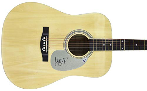 Mick Jagger The Rolling Stones Autographed Signed Acoustic Guitar Bas #A78559 - Certified Signature