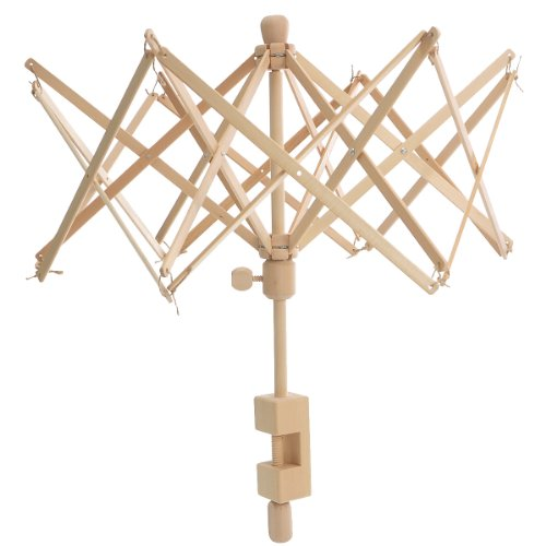 Housweety Wooden Umbrella Winder Holder