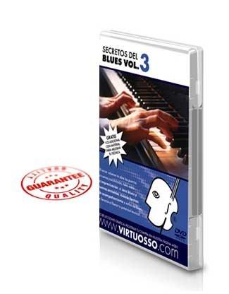 Virtuosso Blues Piano Method Vol.3 (Curso De Piano Blues Vol.3) SPANISH ONLY