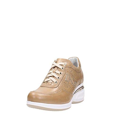 7052d Giardini Platino Sneakers Donna Nero az8On5qO