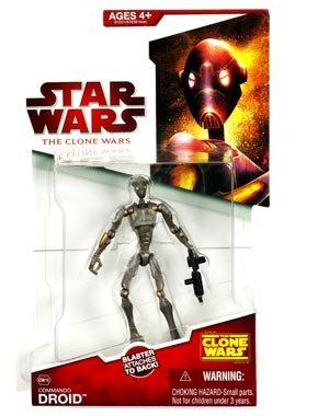 Star Wars The Clone Wars 2009 Commando Droid #CW16 3.75 Inch Scale