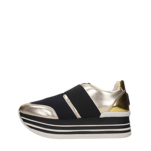 Blu Byblos 672023 Sneakers Mujer PLATINO/NERO