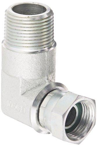 Eaton Aeroquip 2047-8-12S Steel Pipe Fitting, 90 Degree Elbow, 1/2
