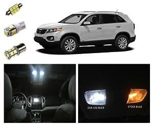 11 15 kia sorento led package interior tag reverse lights 10 pieces automotive for Kia sorento interior lights wont turn off