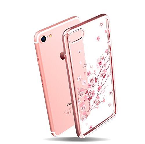 Cheap Cases KINGXBAR for Apple iPhone 8 Case , iPhone 7 Case ,Bling Diamond..