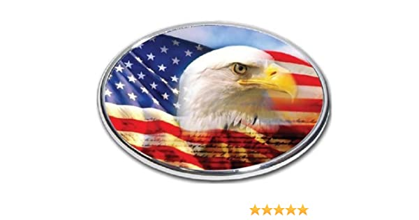 FabProductsRus.com American Flag Rose Trailer Hitch Cover 3//8 Inch Thick High Grade Aluminum 2 Hitch Receiver Size Measures 4 x 6