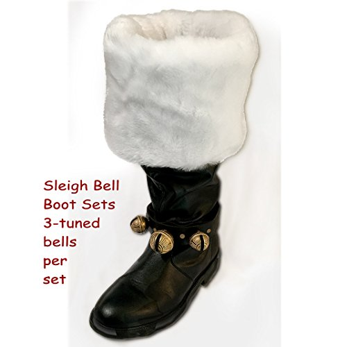 Sleigh Bells for Boots - Two Strap (Styled Sleigh)